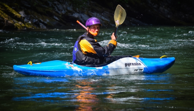Safety kayaking the Chilliwack Cayon